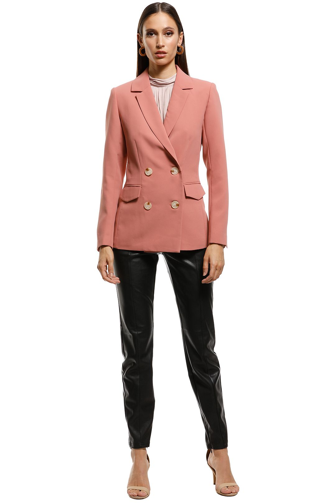 Rodeo Show - Theresa Blazer  - Blush - Front