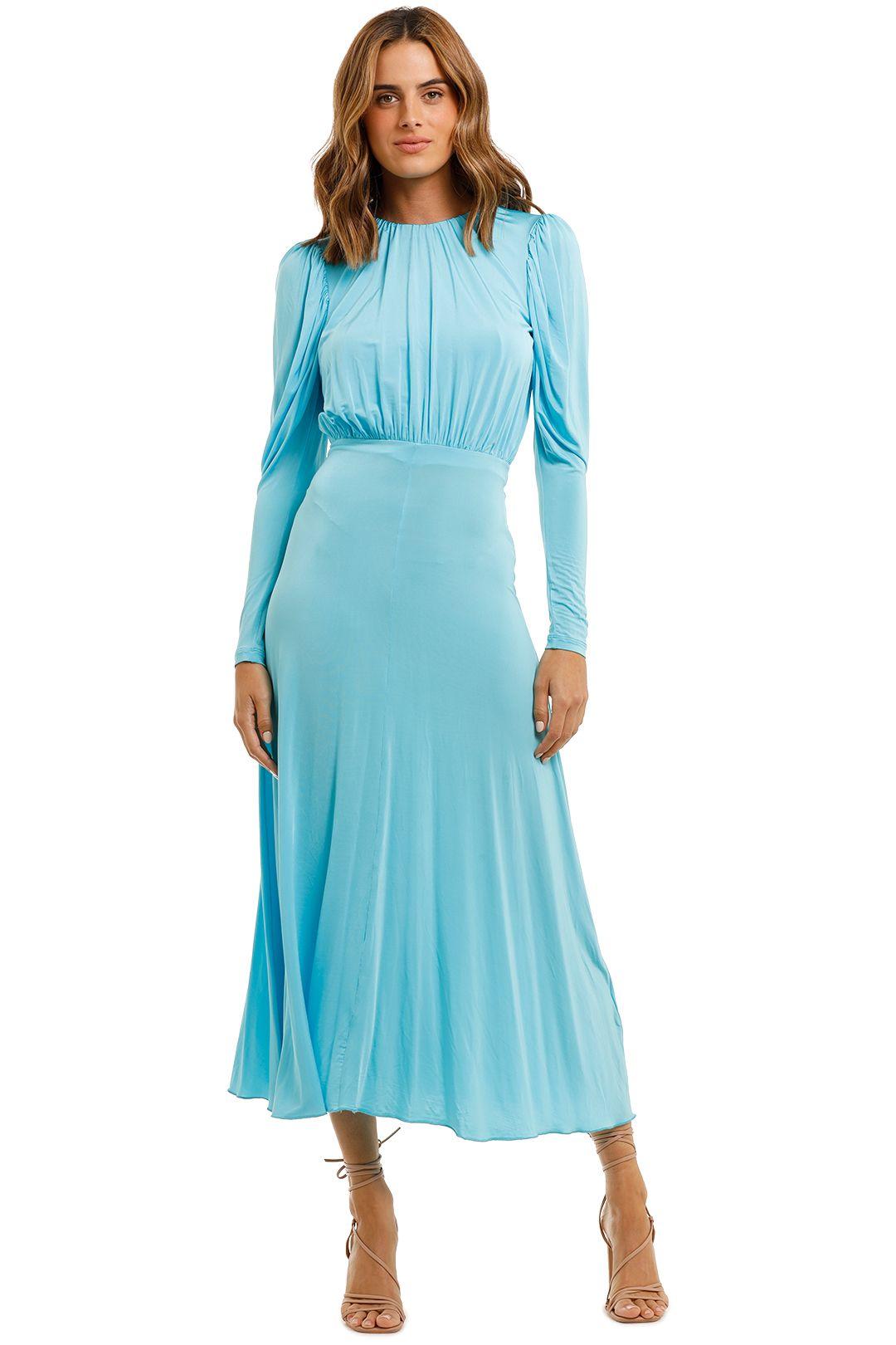 Rotate By Birger Christensen Laura Jersey Midi Dress