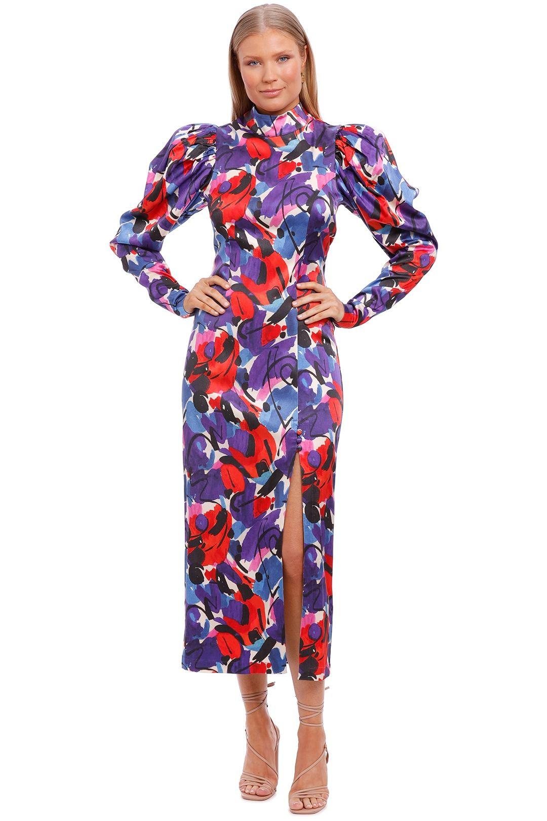 Rotate By Birger Christensen Theresa High Neck Dress