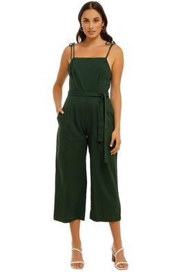 Rue-Stiic-Barrett-Jumpsuit-Emerald-Front
