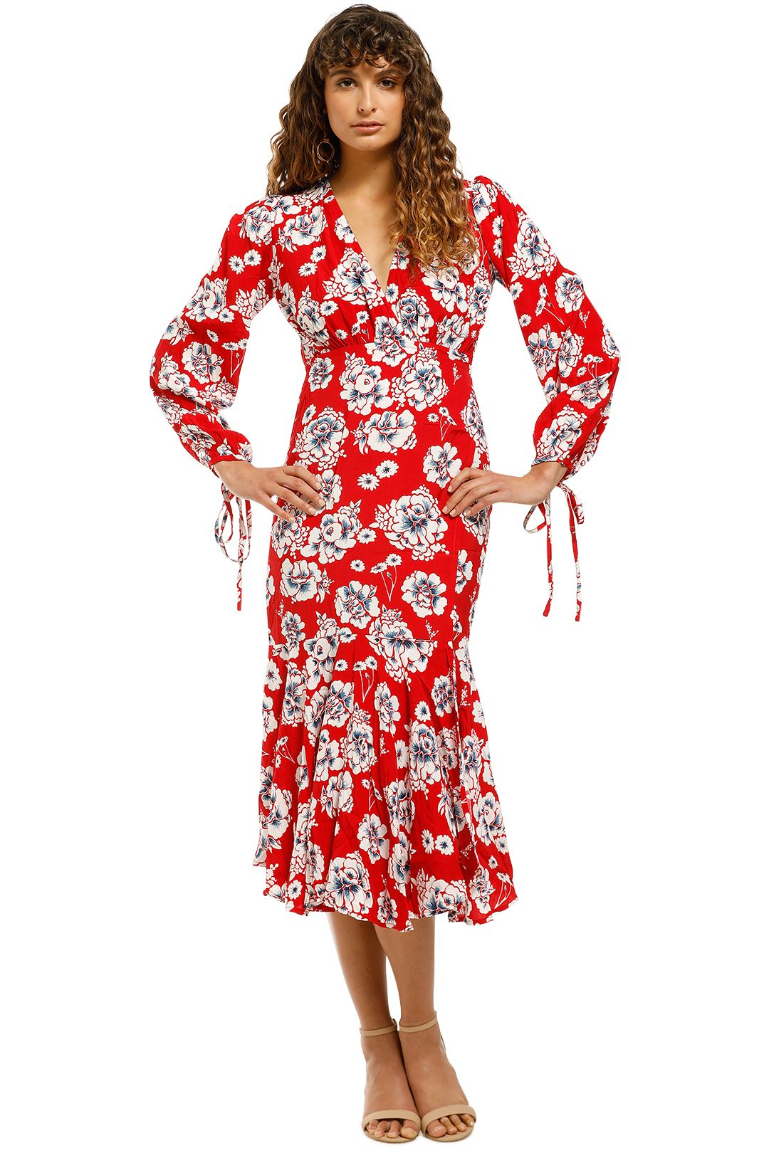 Rue-Stiic-Johnson-Maxi-Dress-Peony-Red-Front