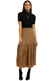 Rue-Stiic-Newport-Pleat-Skirt-Leopard-Front