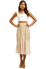 Rue-Stiic-Sheffield-Skirt-Tobacco-Front