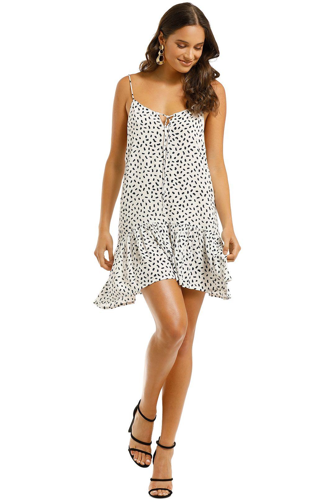 Rue-Stiic-Sutton-Mini-Dress-Polka-Stroke-Ink-Front