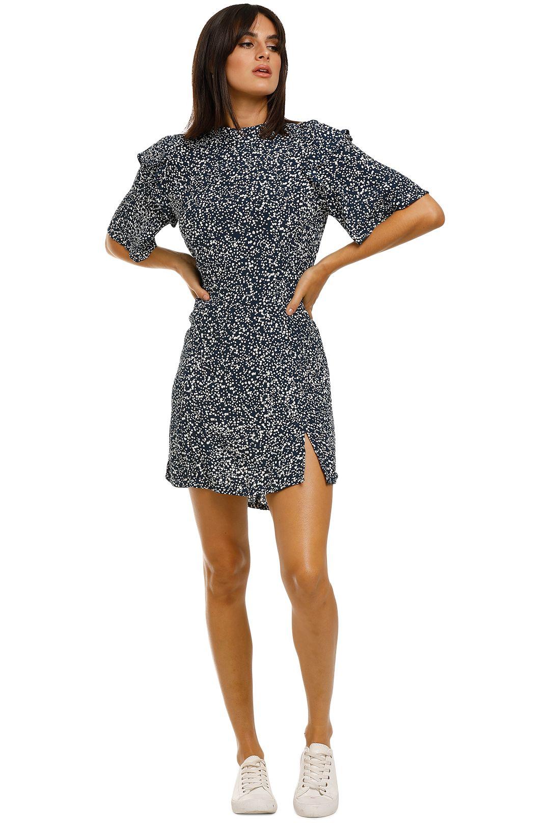 Rue-Stiic-Turner-Mini-Dress-Blue-Front