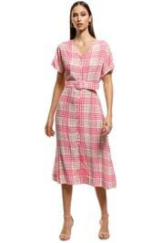 S/W/F - Castle Dress - Pink - Front