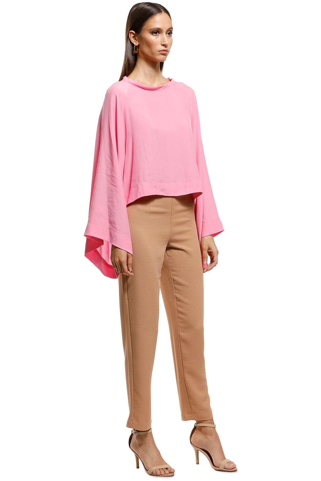 S/W/F - Flick Top - Pink - Front