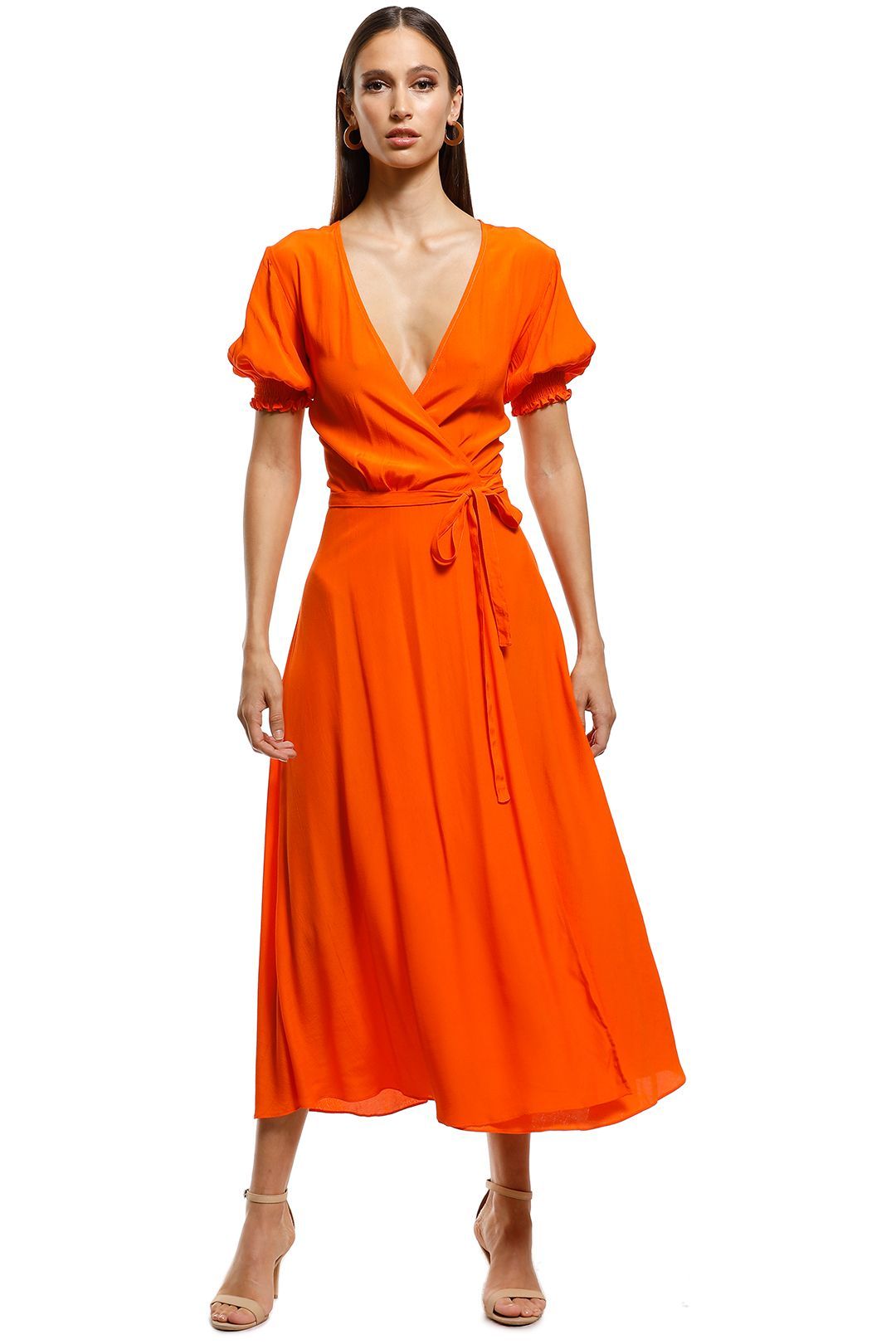 S/W/F - Pounce Dress - Copper - Front