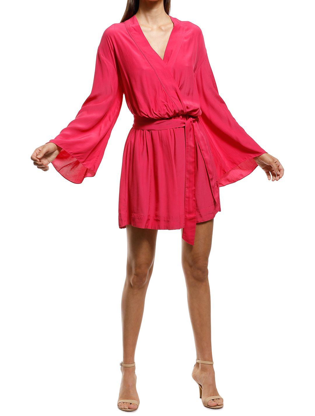 S/W/F - Rush Dress - Pink - Front