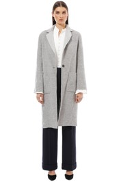 Saba - Kayla Reversible Coat - Grey - Front