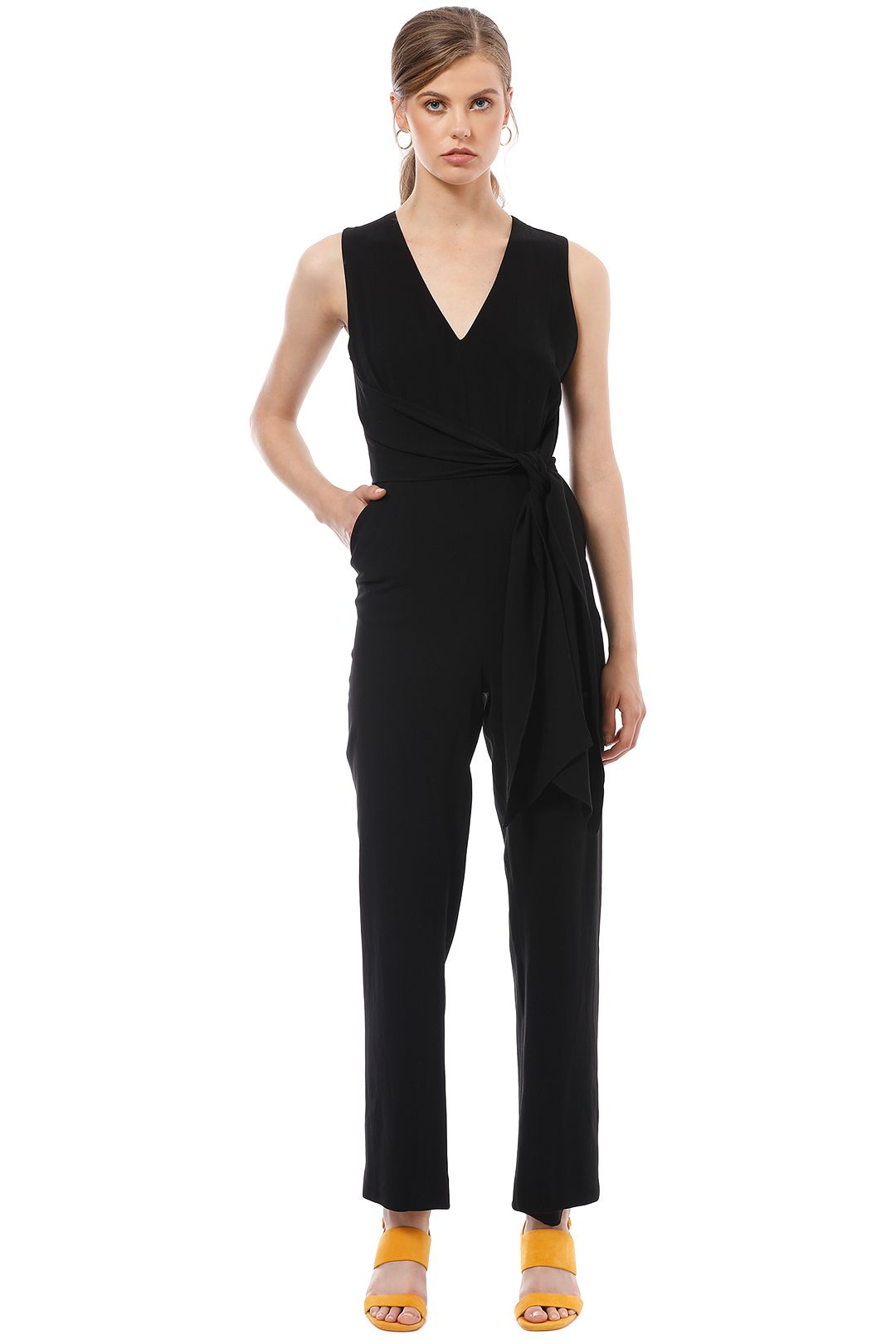 Saba - Zinnia Jumpsuit - Black - Front