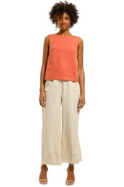 Saints-The-Label-Adern-Top-Rust-Front