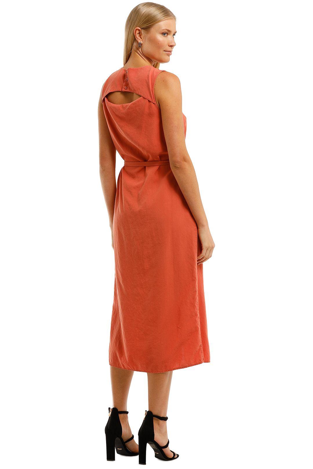 Saints-The-Label-Ardern-Dress-Rust-Back