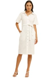 Saints-the-Label-Brunswick-Dress-White-Front