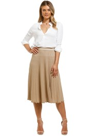 Saints-The-Label-Elwood-Skirt-Nude-Front