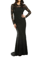 Samantha-Rose-La-Rochelle-Gown-Black-Front