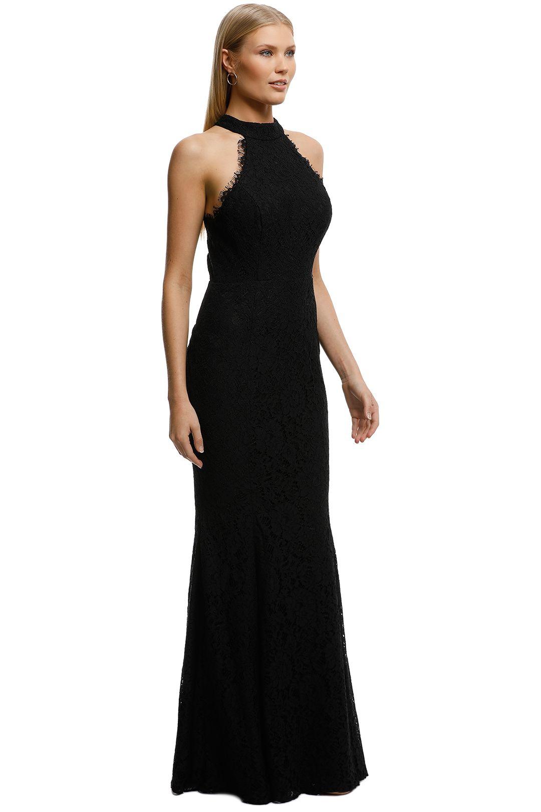 Samantha Rose-Carmen Gown-Black-Side