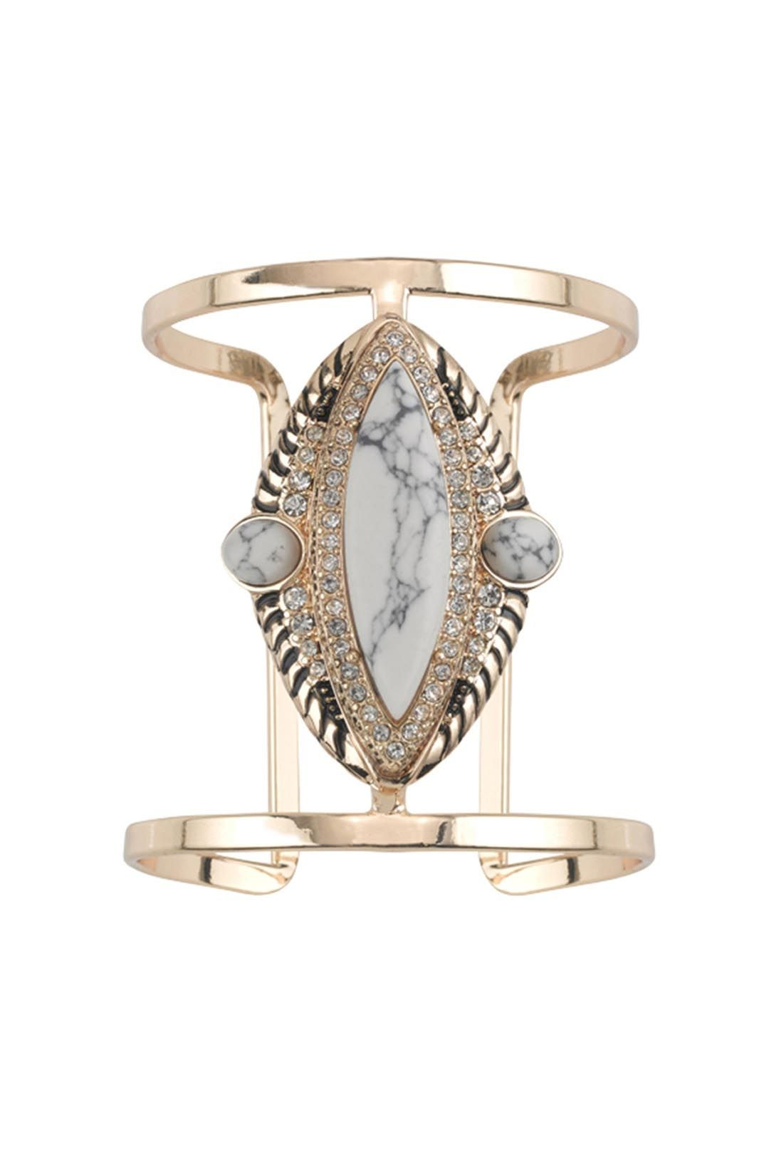Samantha Wills - Reality of Dreams Grand Cuff - Gold - Front