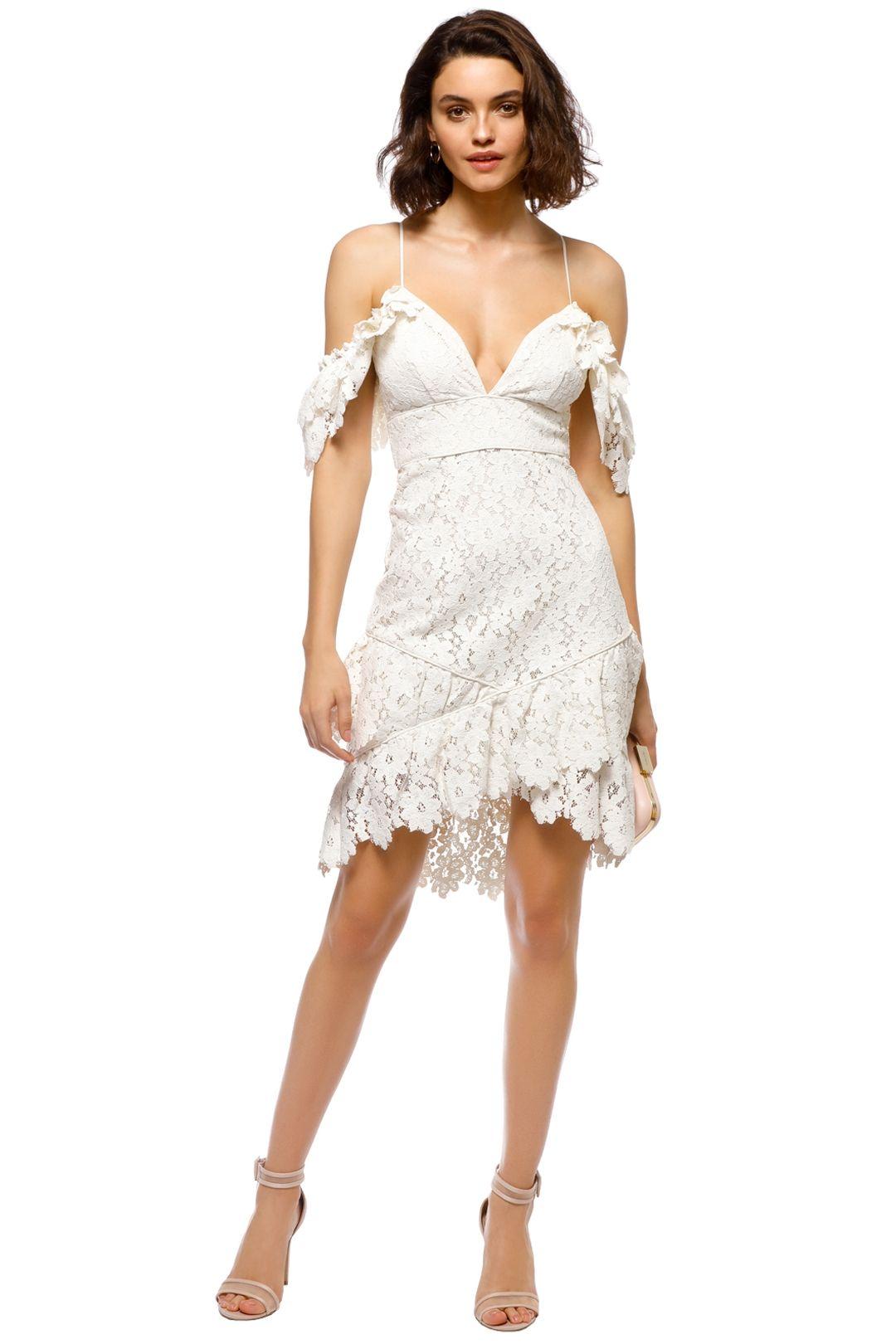 Saylor - Dana Dress - White - Front