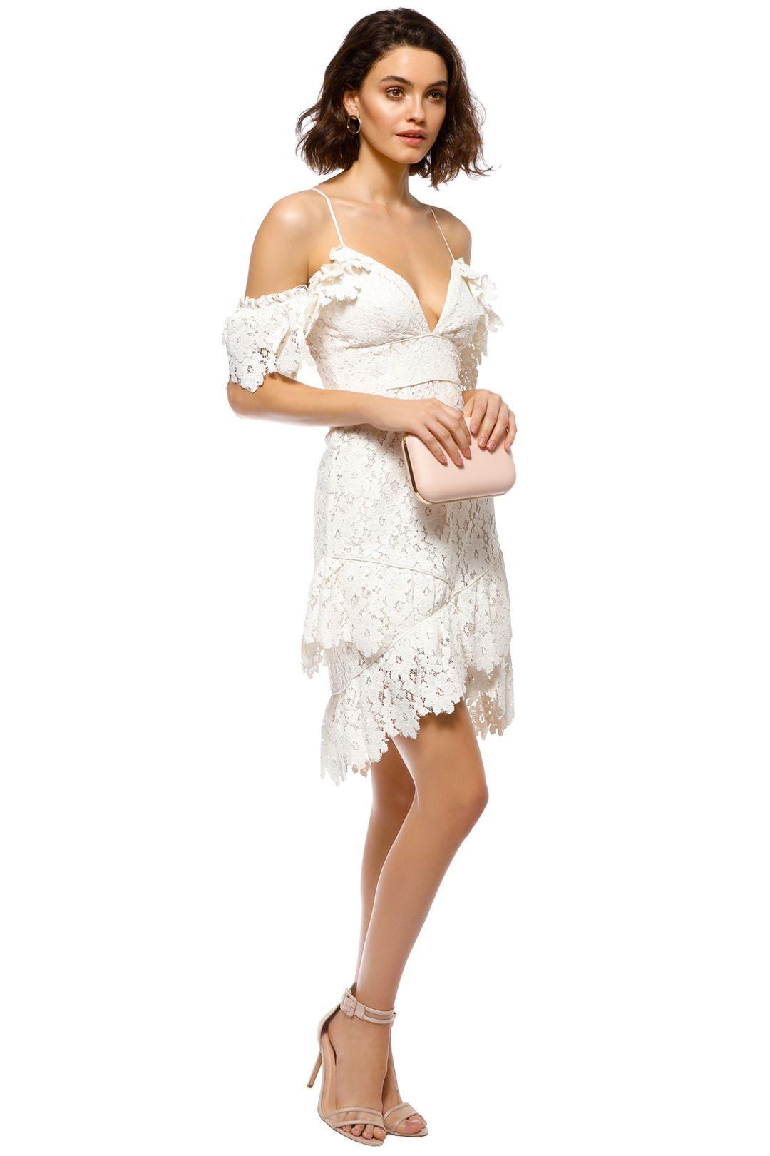 Saylor - Dana Dress - White - Side