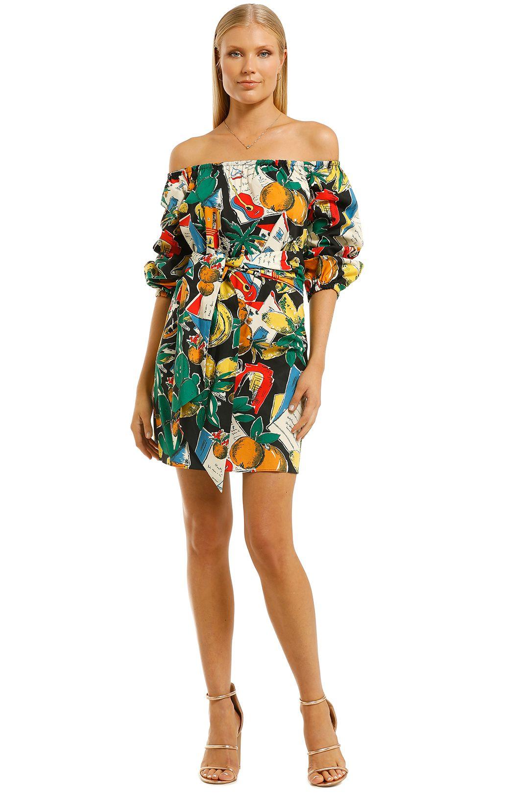 Scanlan-Theodore-Calypso-Wrap-Dress-Front