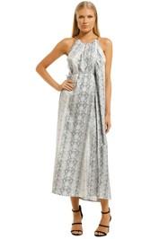 Scanlan-Theodore-Silk-Reptile-Print-Dress-Front