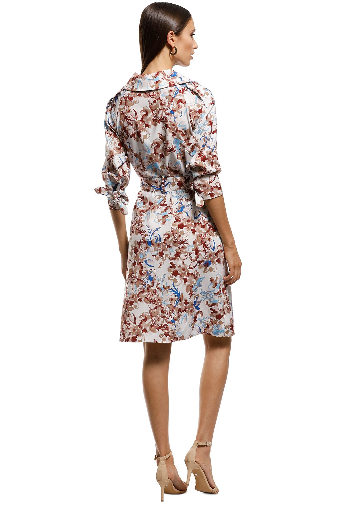 Scanlan Theodore - Belita Trench Dress - Multi - Back