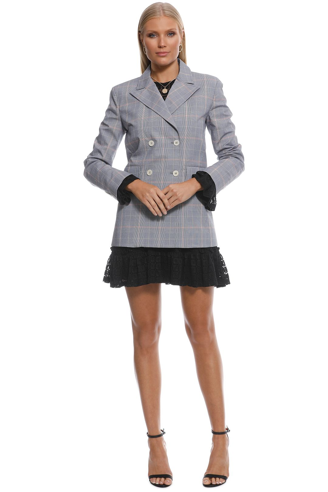 Scanlan Theodore - Check Jacket - Front