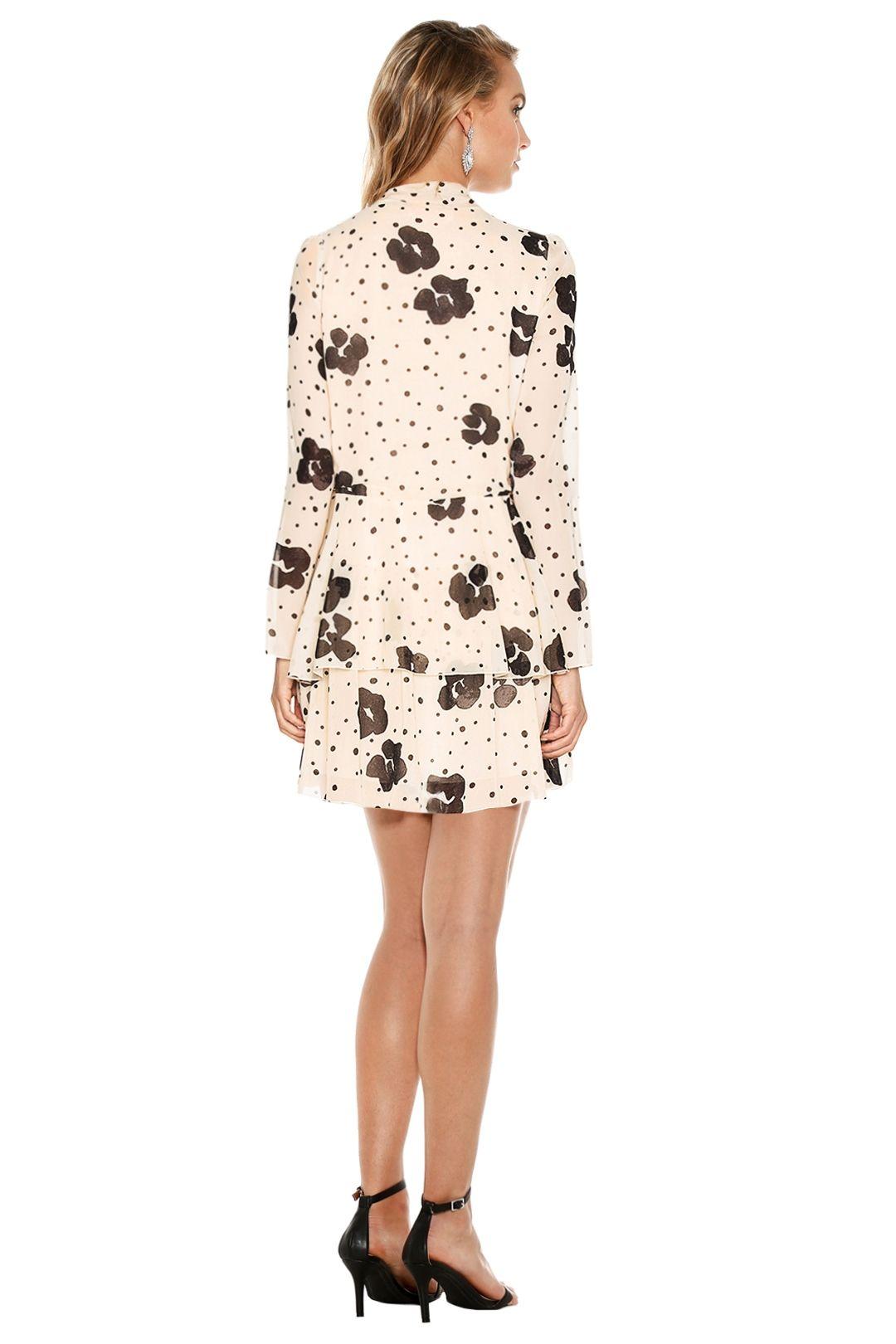 See by Chloé - Leopard Print On Silk Dress - Leopard Print - Back
