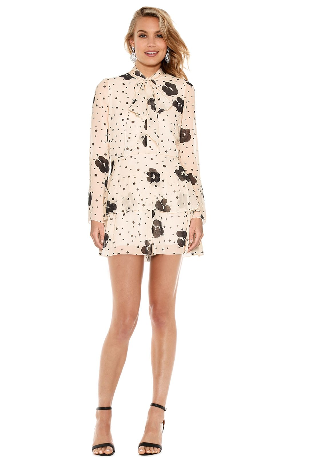 See by Chloé - Leopard Print On Silk Dress - Leopard Print - Front