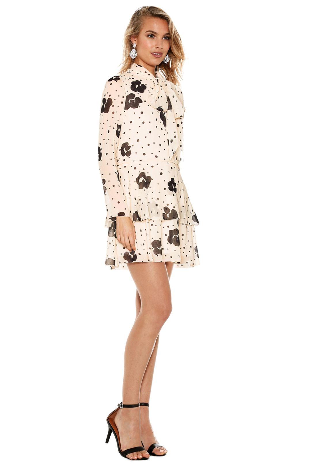 See by Chloé - Leopard Print On Silk Dress - Leopard Print - Side