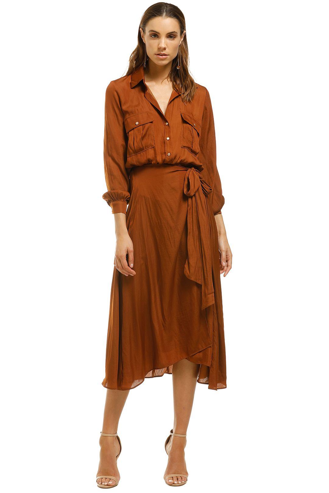 Sheike-Wrap-Shirt-Dress-Bronze-Front