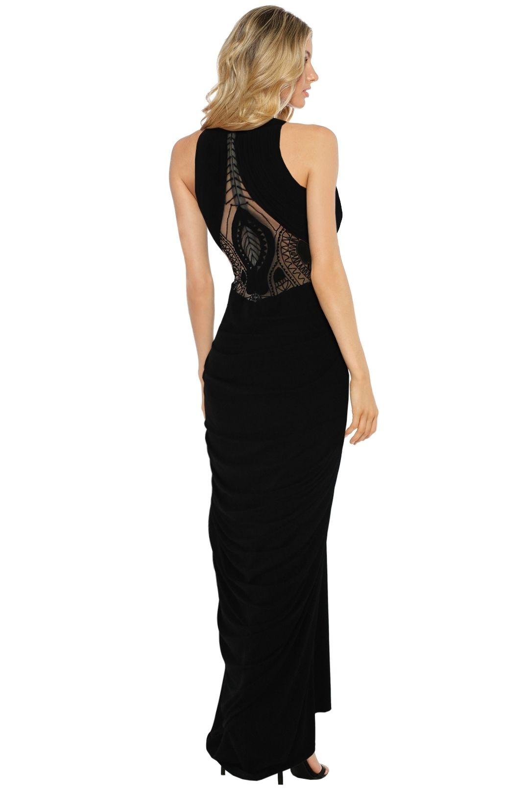 Sheike - Aphrodite Gown - Black - Back