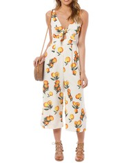 Sheike - Clementine Jumpsuit - Print - Front