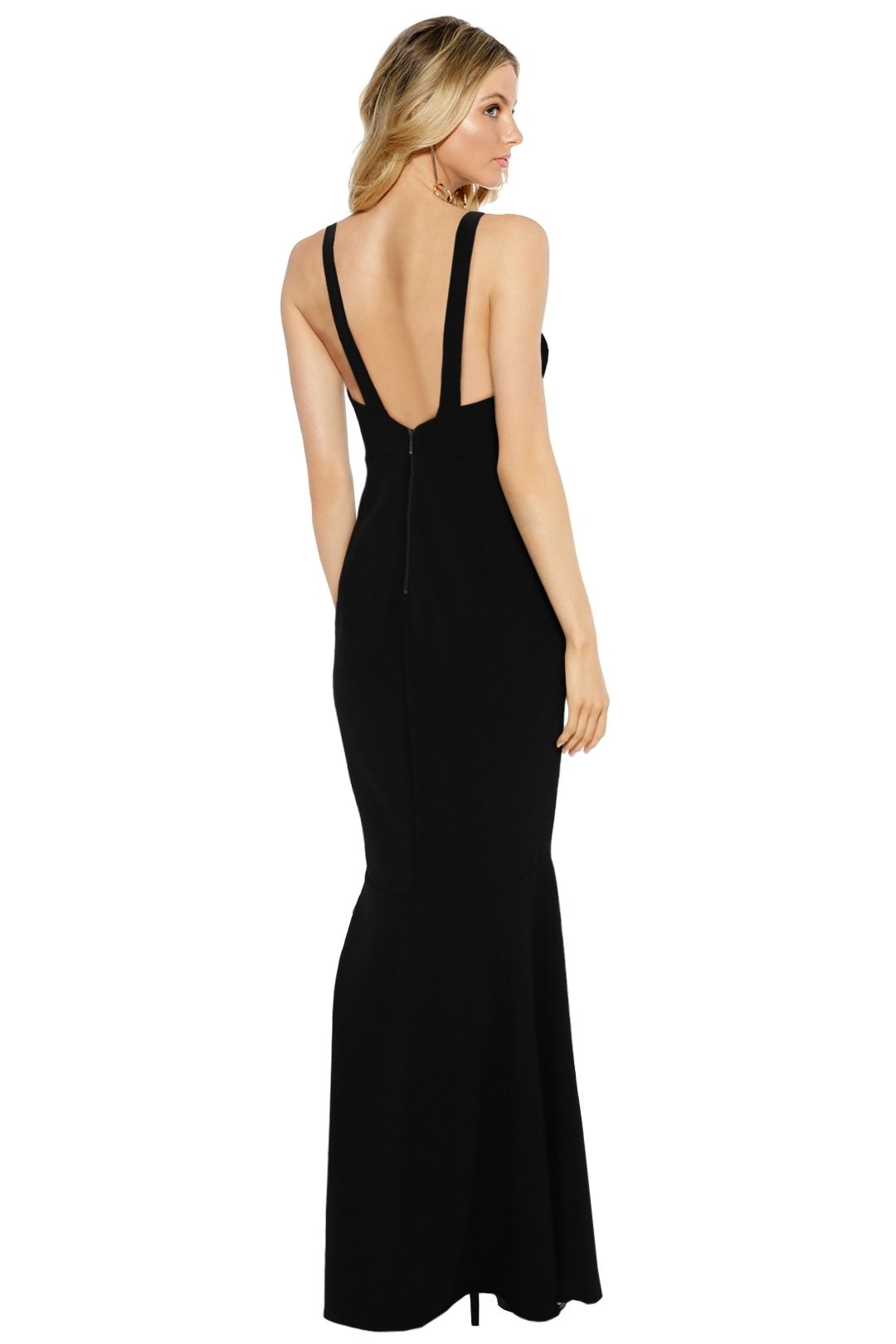 Sheike - Madrid Maxi Dress - Black - Back