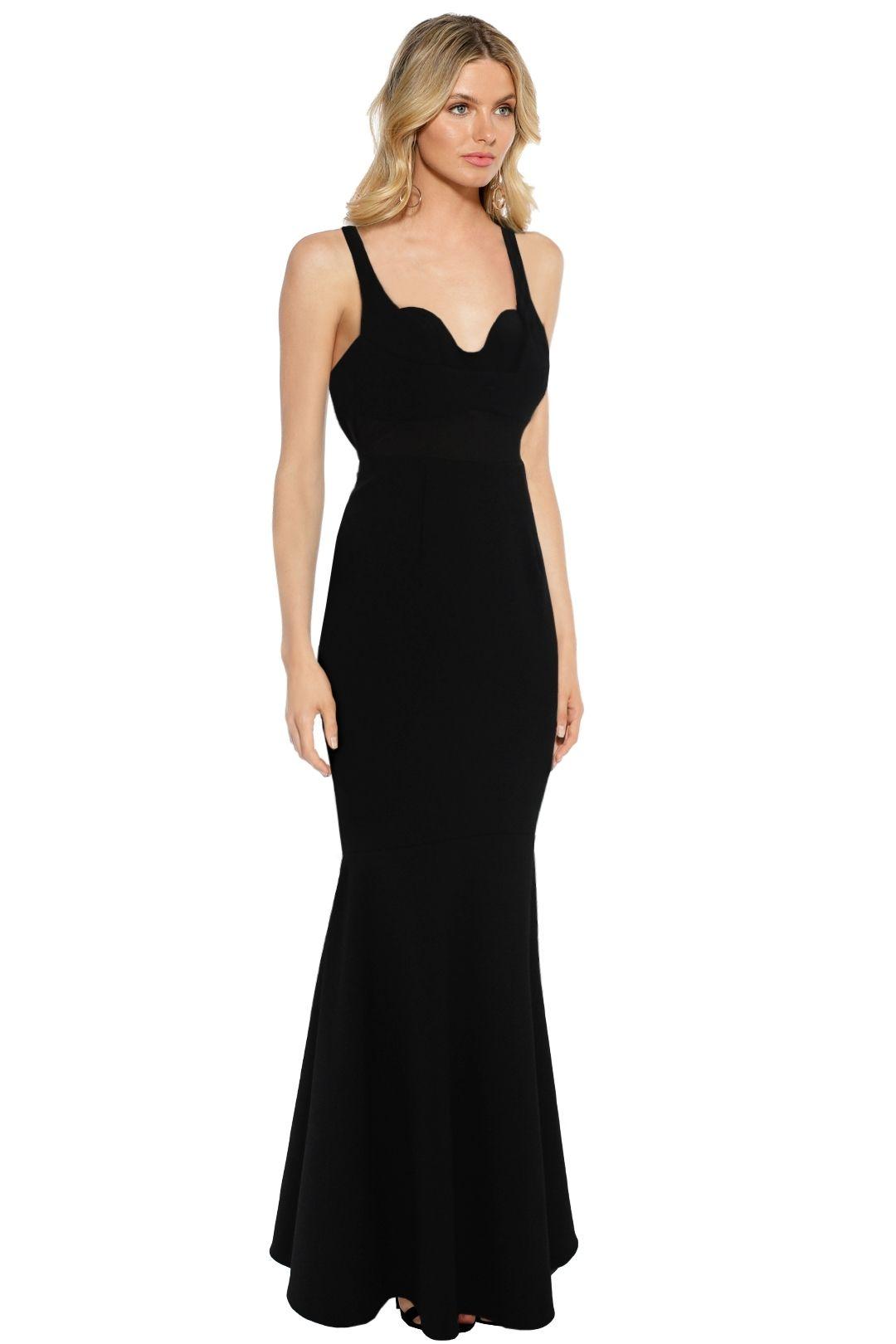 Sheike - Madrid Maxi Dress - Black - Side