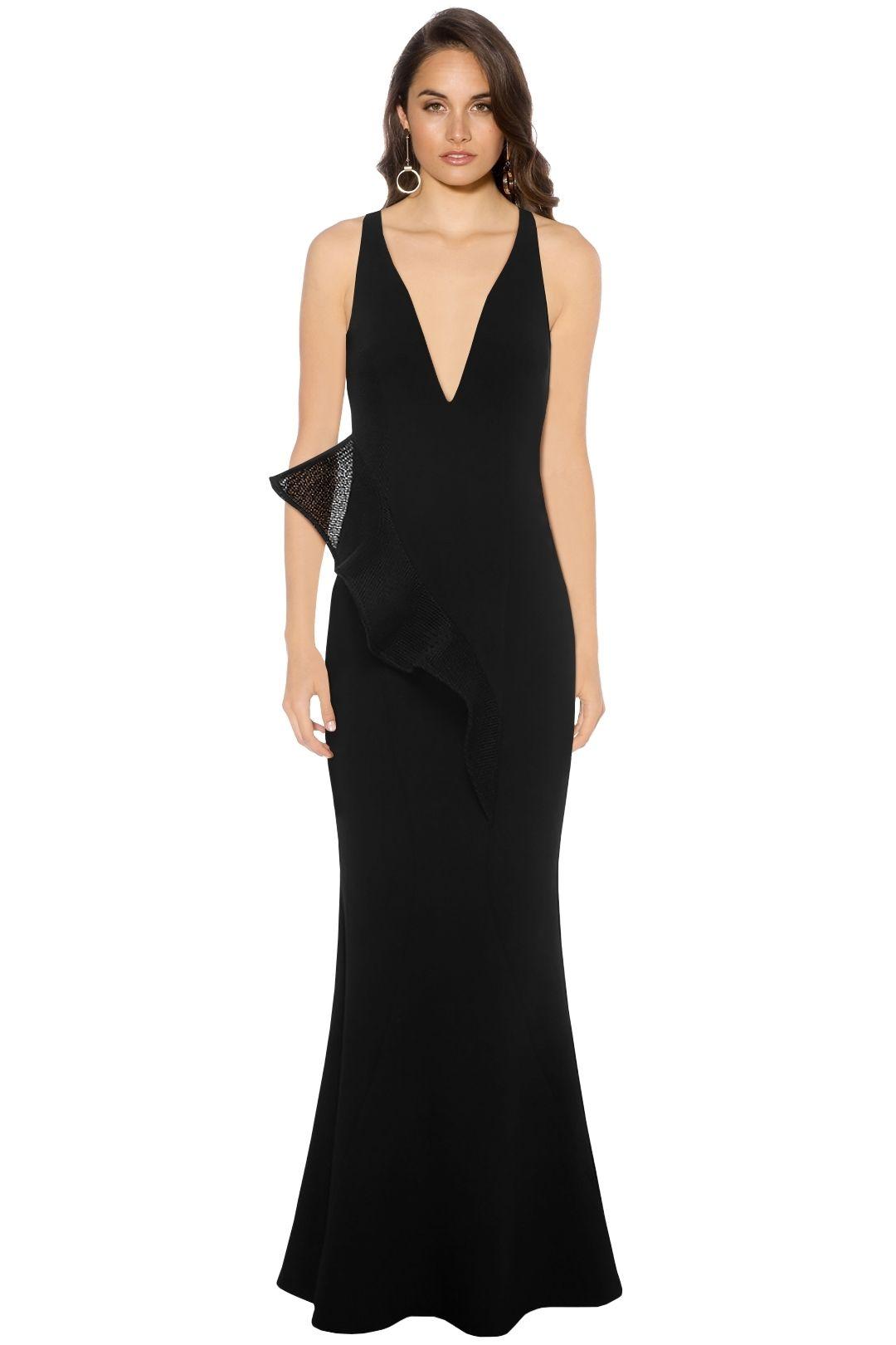 Sheike - Olivia Maxi Dress - Black - Front