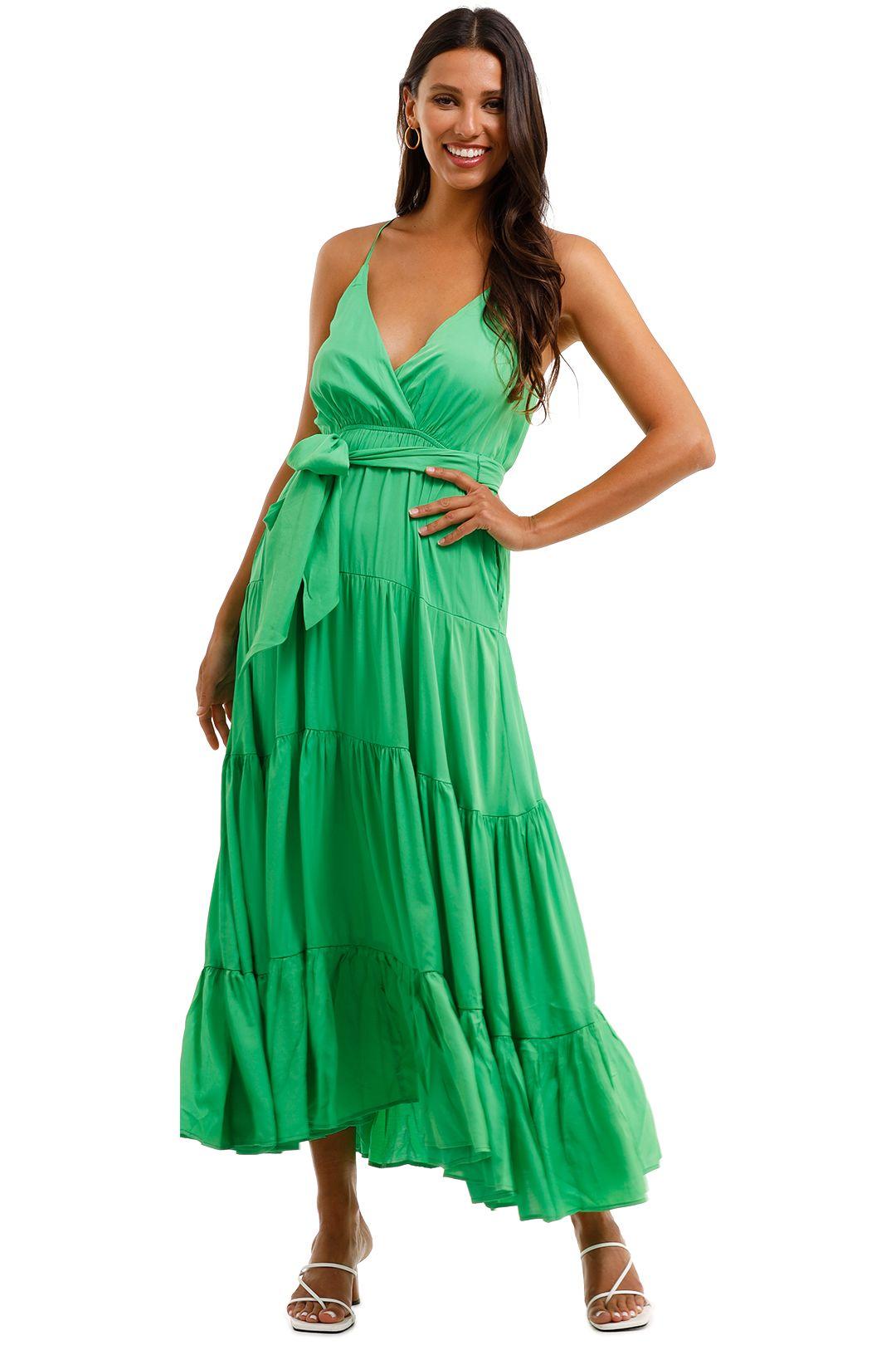 Sheike Mystique Maxi Dress Green