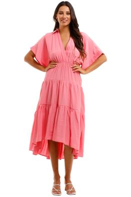 Sheike Sundays Dress Pink