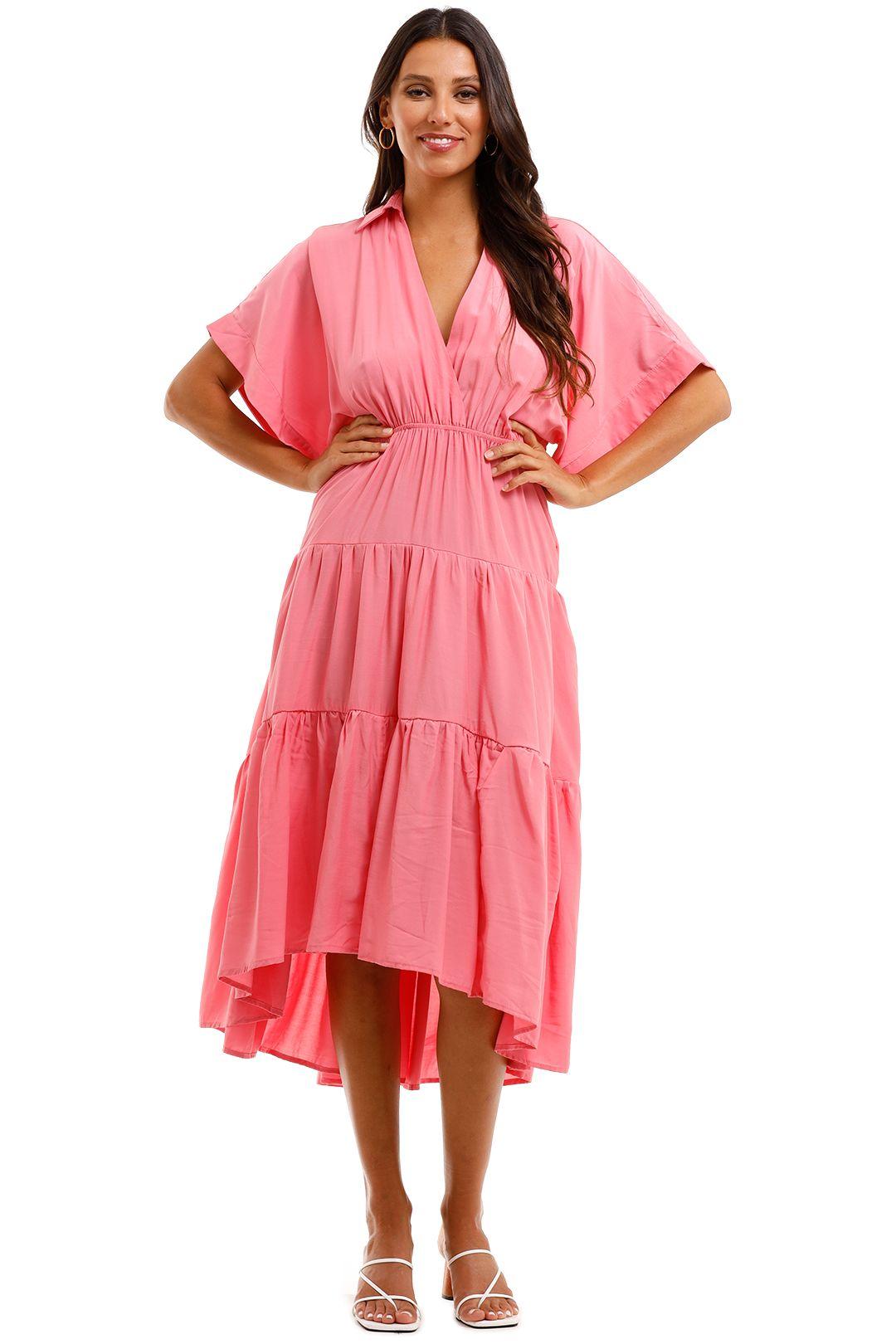 Sheike Sundays Dress Pink