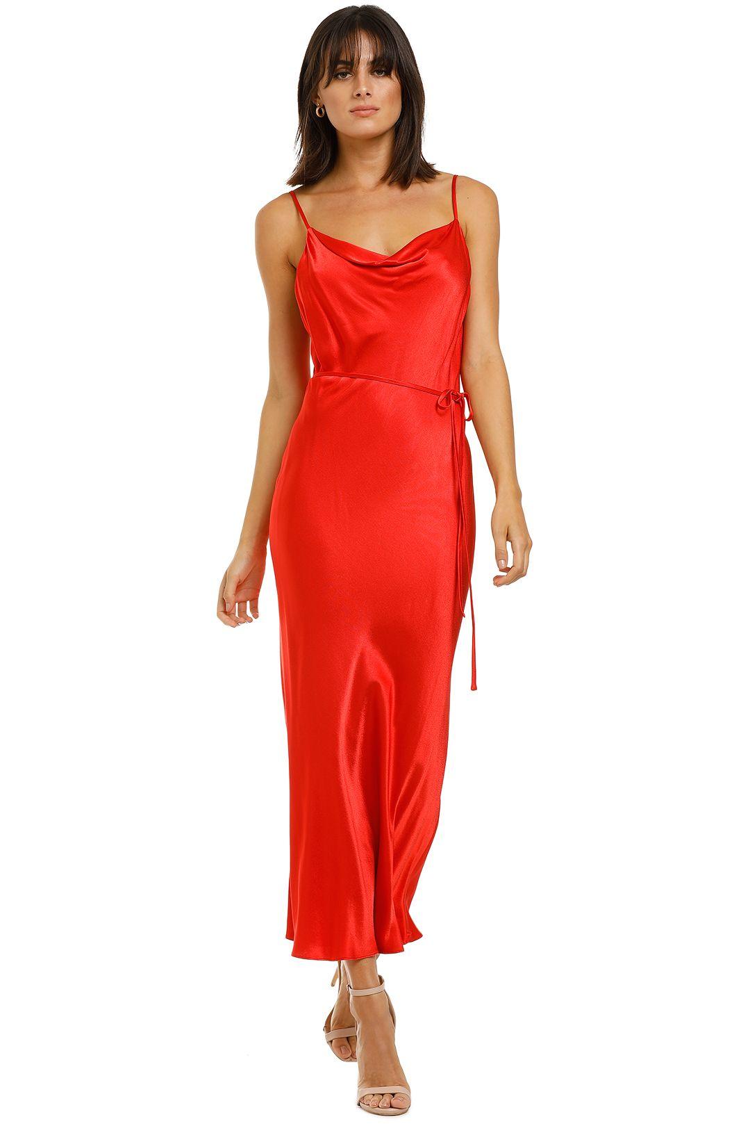 Shona-Joy-Bias-Slip-Dress-Red-Front