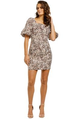 Shona-Joy-Dahlia-Fitted-Mini-Dress-Front