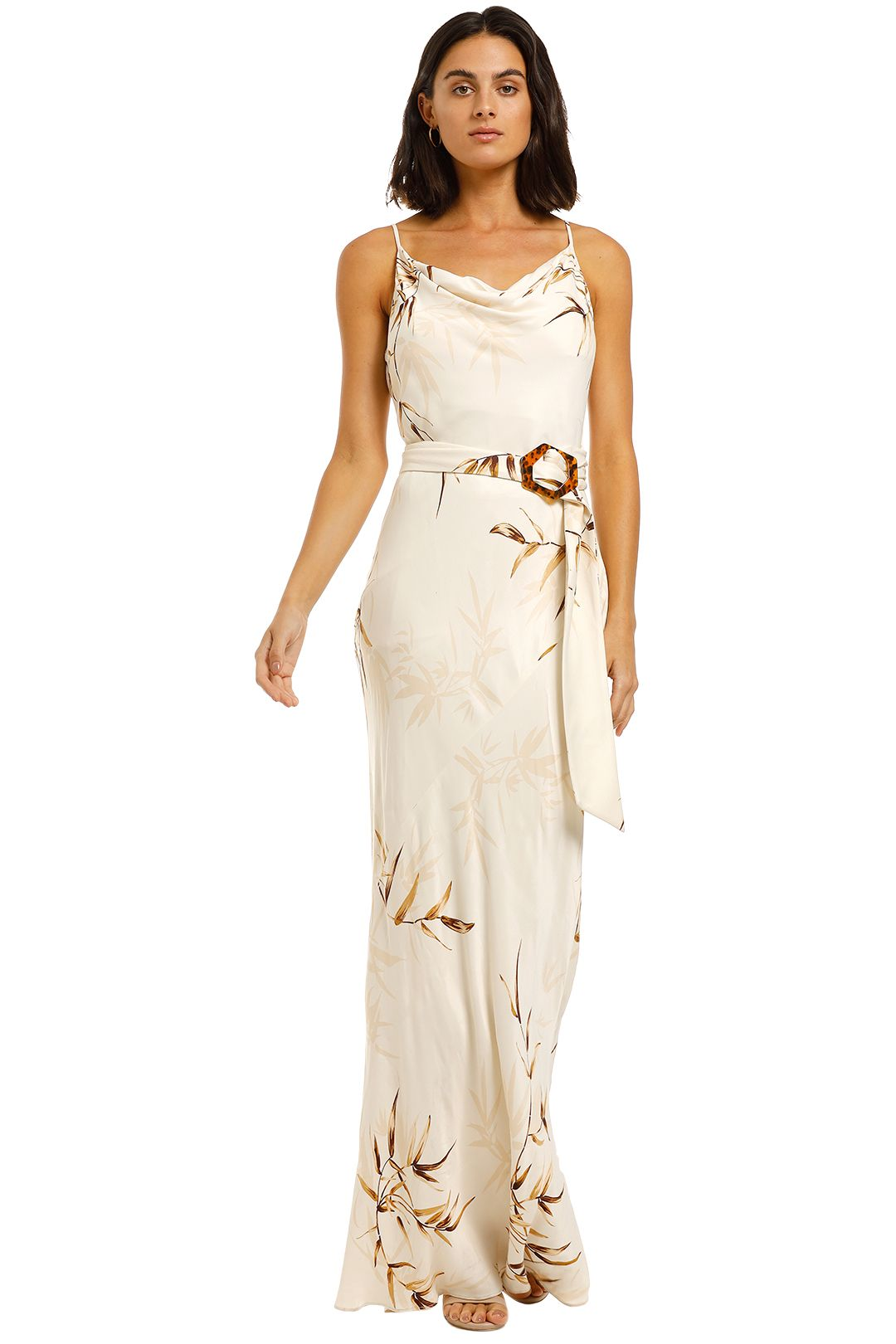 Shona-Joy-Horizon-Bias-Cowl-Maxi-Dress-Cream-Front