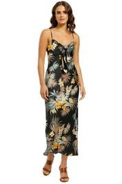 Shona-Joy-Maui-Tie-Front-Bandeau-Midi-Dress-Front
