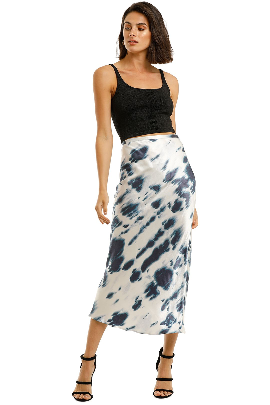 Shona-Joy-Palmar-Bias-Midi-Skirt-Ivory-Ink-Front