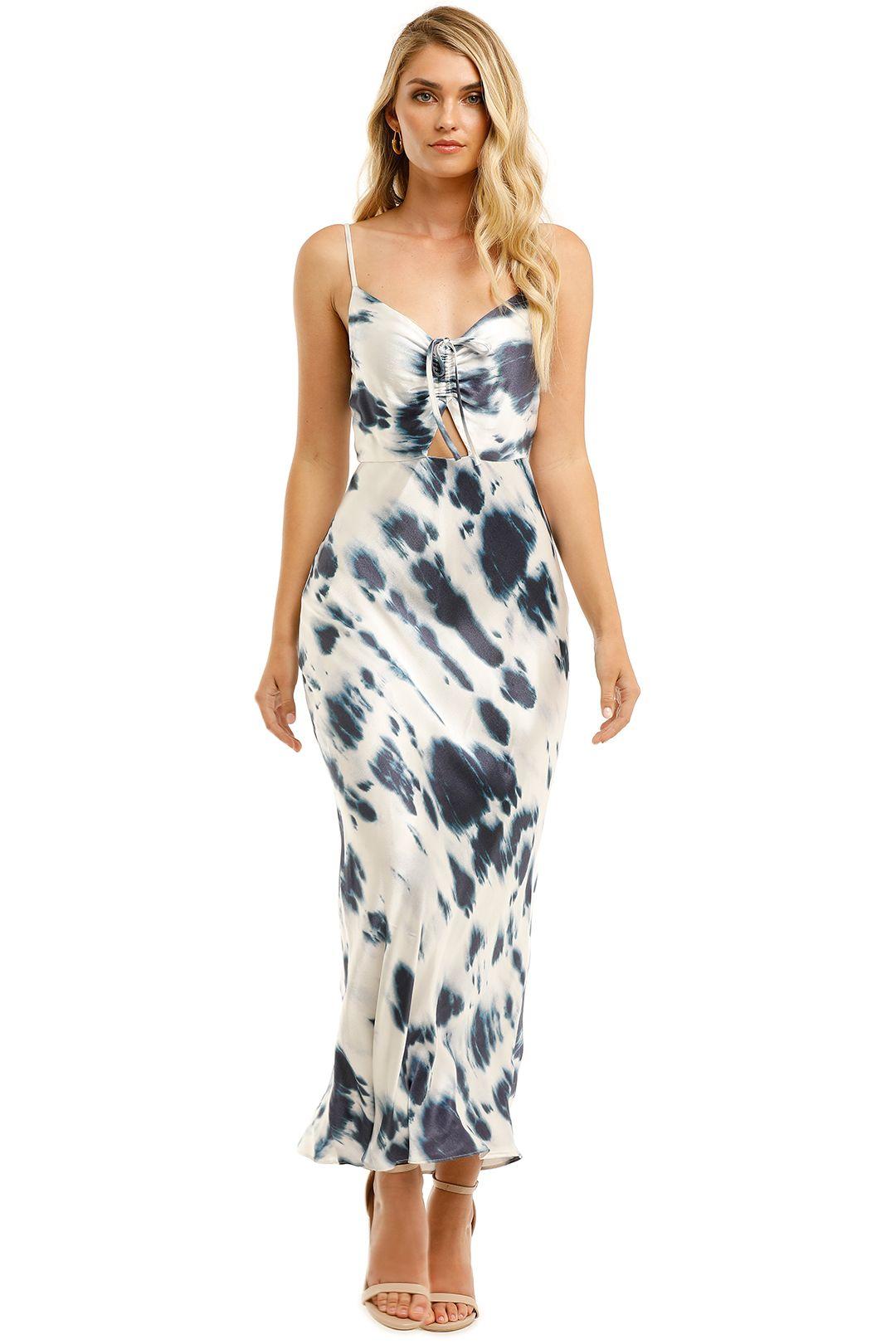 Shona-Joy-Palmar-Ruched-Bias-Slip-Dress-Ivory-Ink-Front