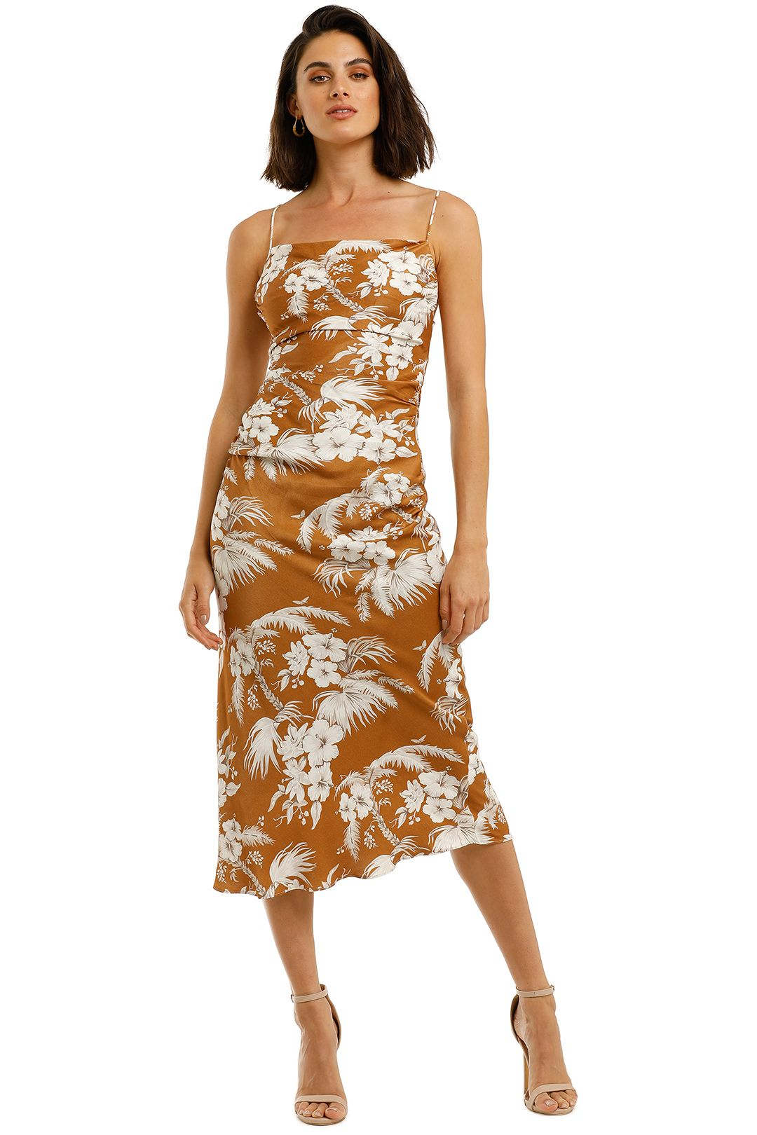 Shona-Joy-Westcott-Ruched-Backless-Slip-Dress-Front
