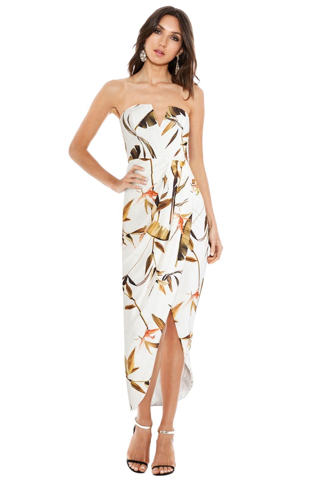 Shona Joy - Rapture Dress - Cream - Front