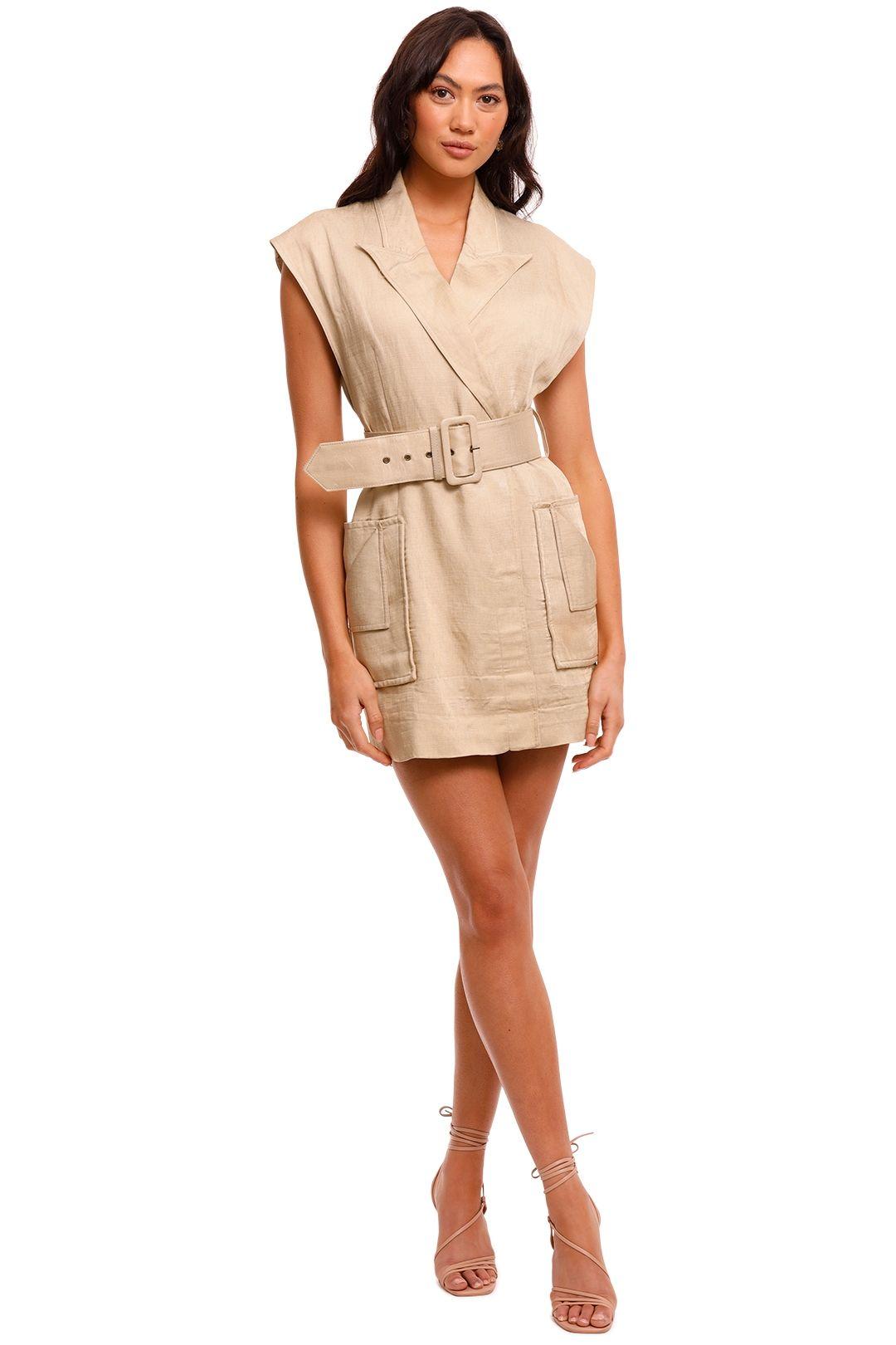 Shona Joy Blazer Mini Dress Pistachio