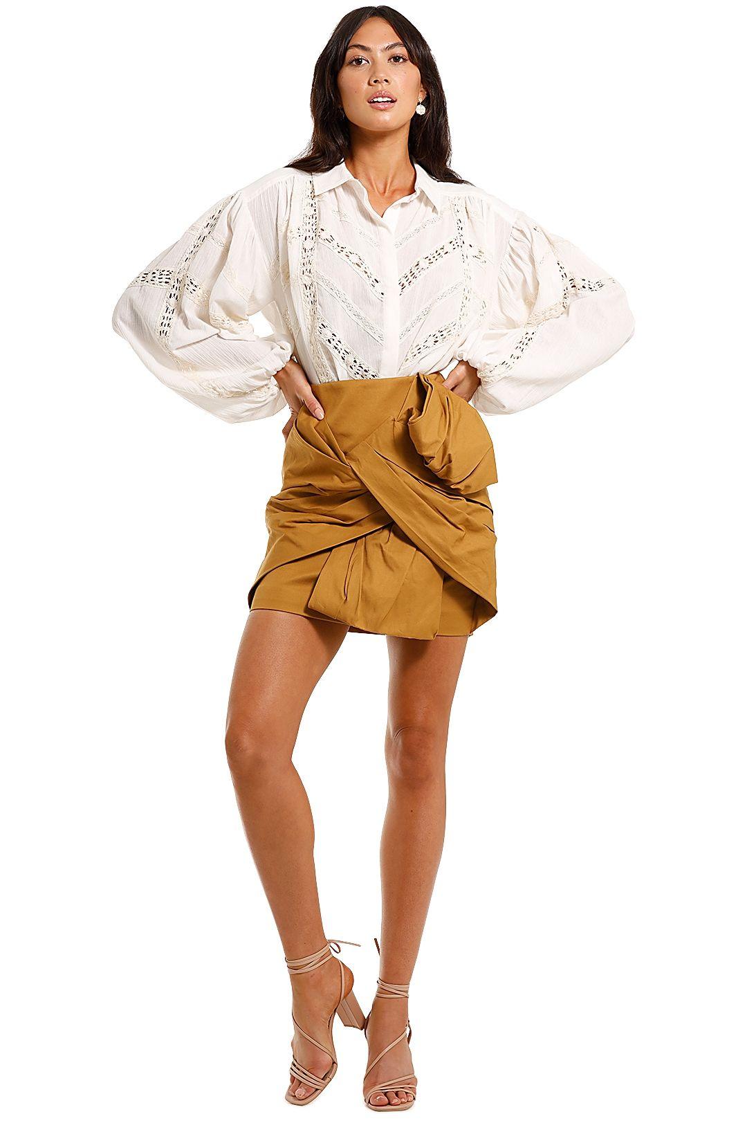 Shona Joy Chloe Chevron Shirt